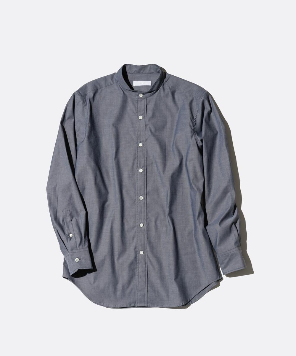 コットンストレッチオックスシャツ